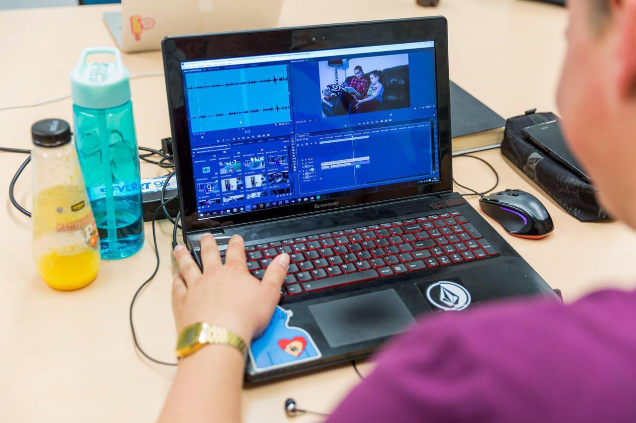 Student audiovisuele vormgeving & animatie
