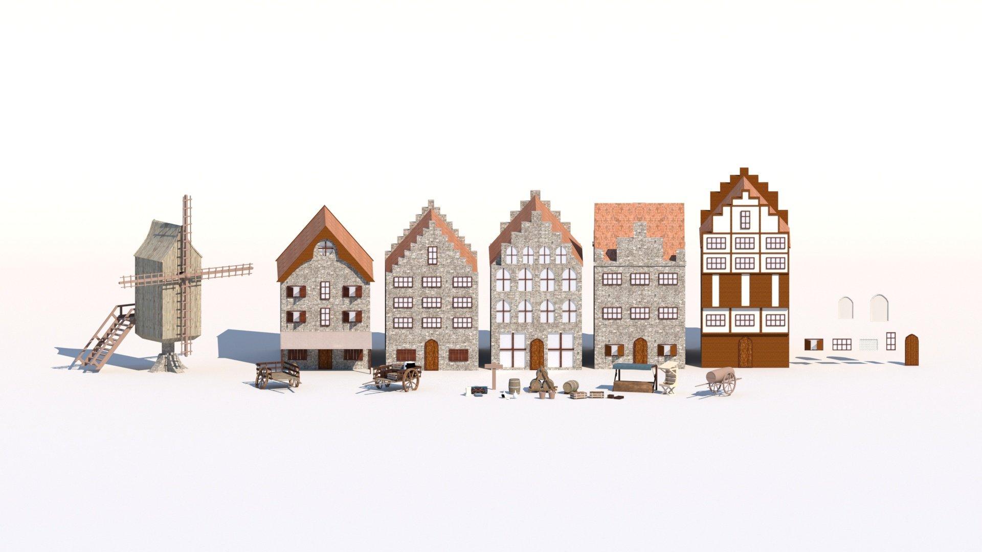 Visualisatie omgeving Pieckenpoort