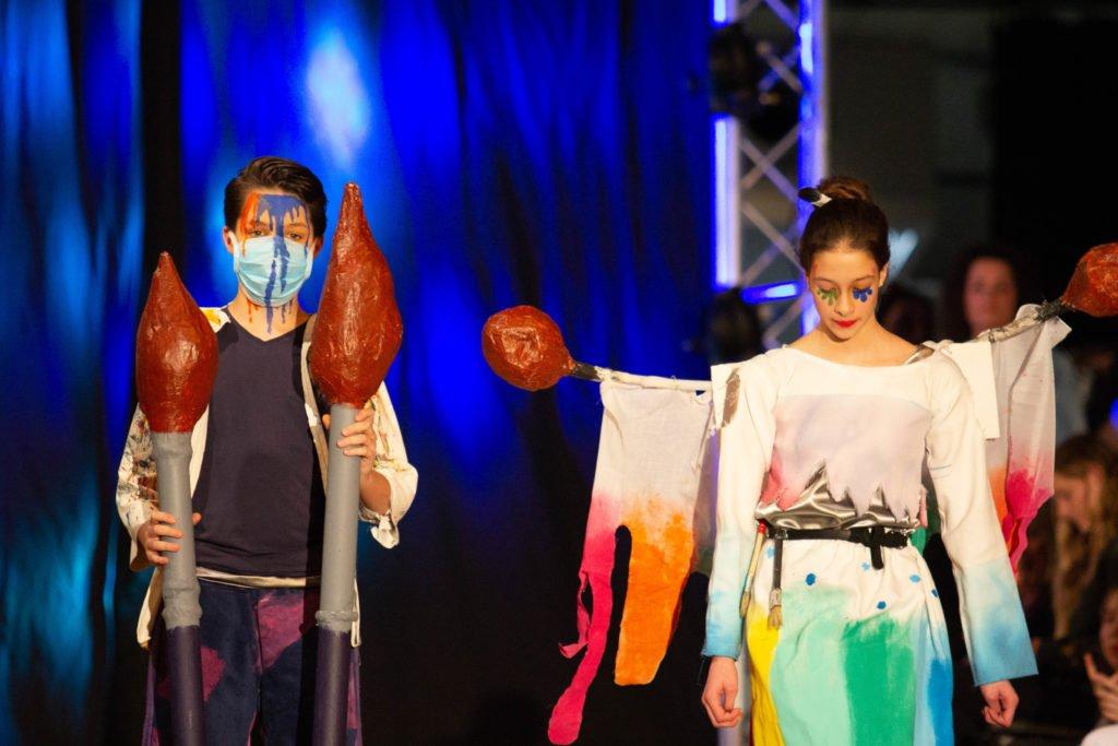 Fashionshow thema verf