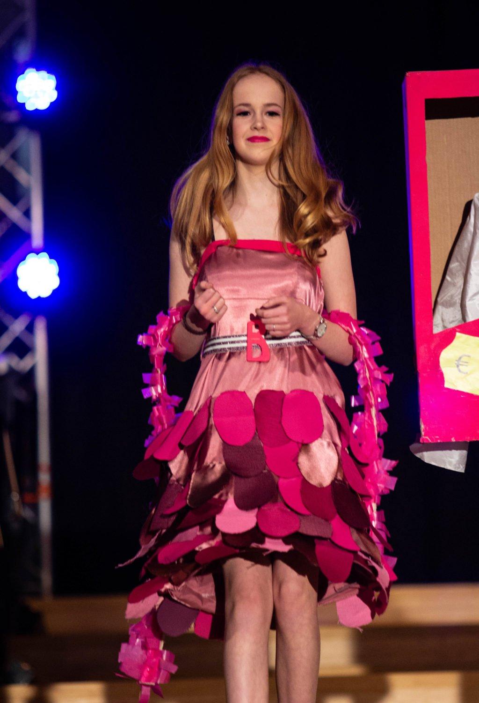 Fashionshow thema pink