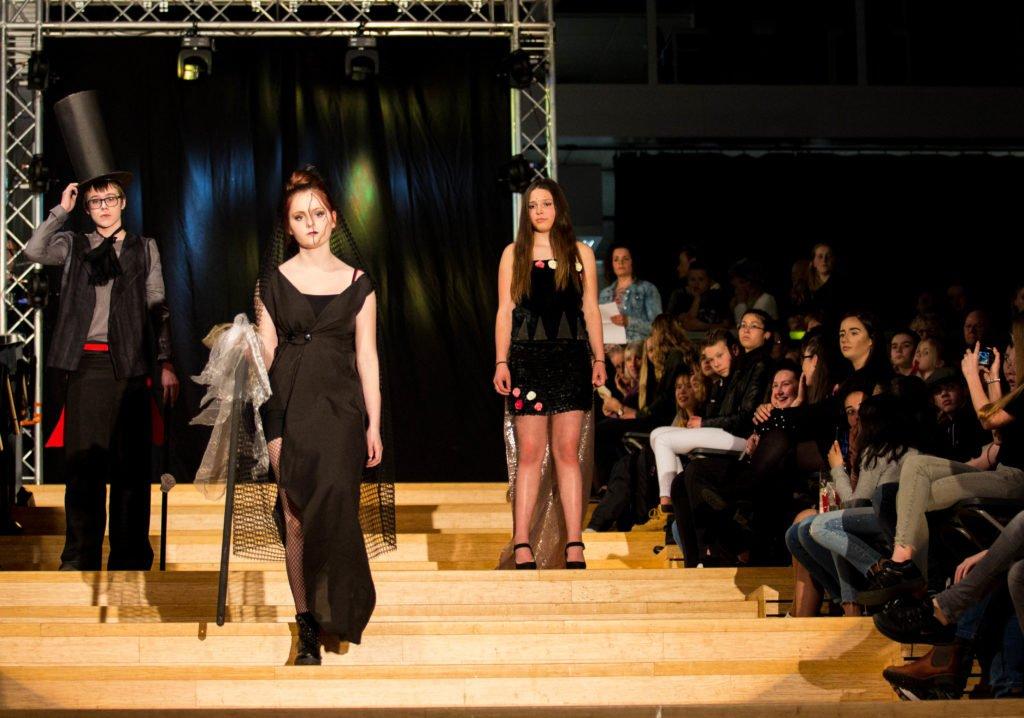 Fashionshow thema Gothic Chique