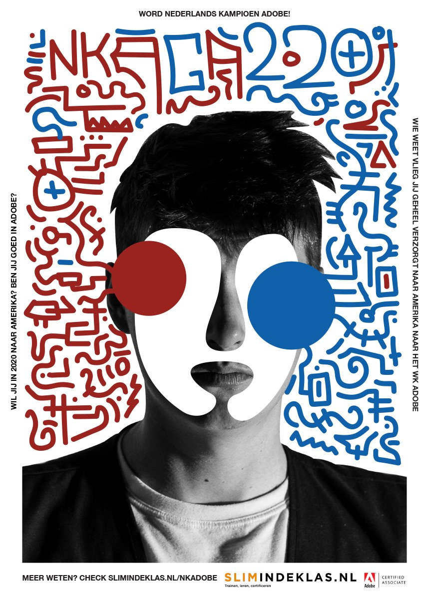 Poster Stijn van Leest - NK Adobe 2019