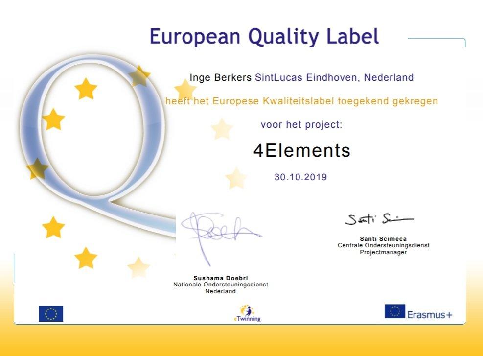 Kwalificatie 4Elements