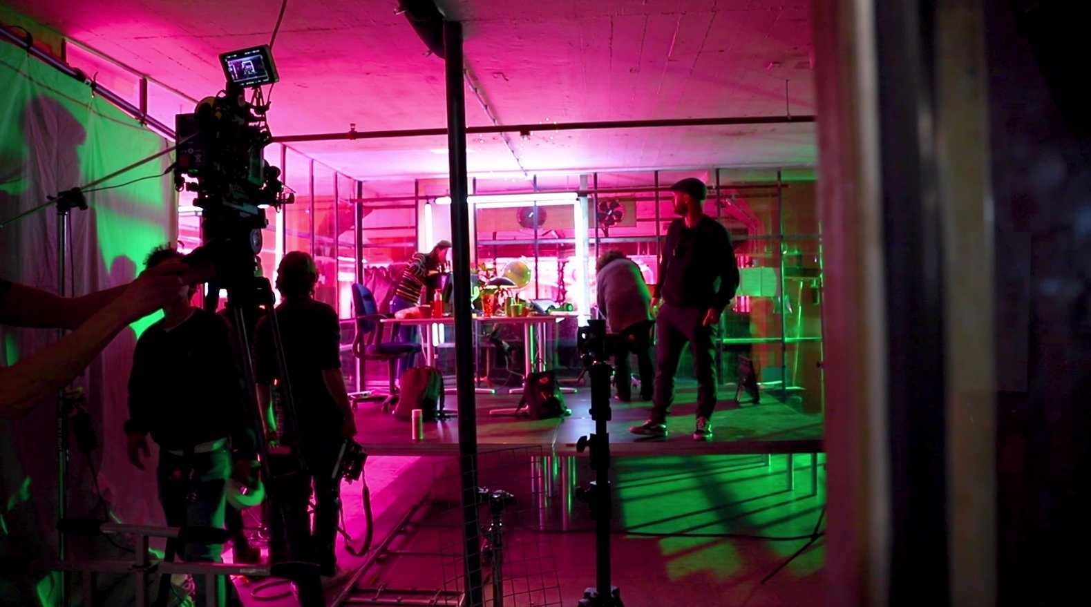 Studenten helpen mee met de SintLucas film