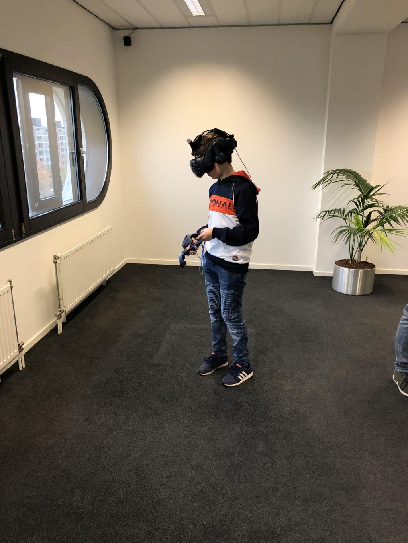 Bliksemstage VR-room